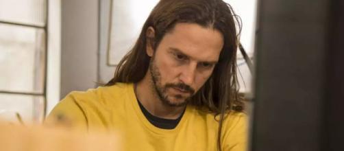 Davi sobrevive a atentado e se vinga de Álvaro. (Reprodução/TV Globo)