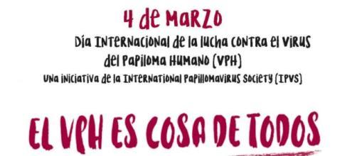 Día Internacional de la Lucha Contra el VPH. / Twitter