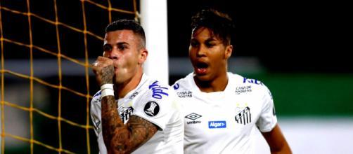 Jobson empatou para o Alvinegro, aproveitando ótima assistência de Soteldo. (Arquivo Blasting News)