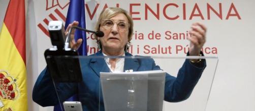La consejera de Sanidad de la Comunidad Valenciana, Ana Barceló. / yahoo.com