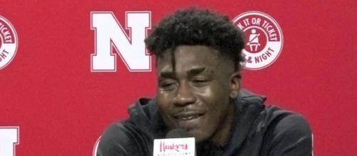 Nebraska basketball's Cam Mack has some fans worried. [Image via Huskersonline/YouTube]