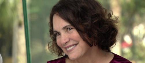 Regina Duarte é ex-atriz da Globo. (Reprodução/TV Globo).