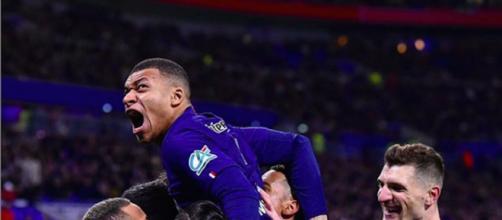 PSG-Lyon : Mbappé au meilleur de sa performance. Credit : Instagram/PSG