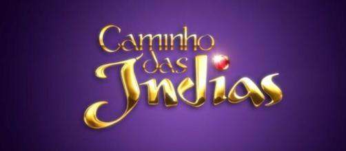 Abertura da novela 'Caminho das Índias'. (Reprodução/TV Globo)