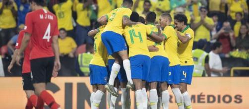 Atletas da Seleção Brasileira voltarão a defender o Brasil em fevereiro. (Lucas Figueiredo/CBF)