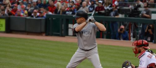 Brett Gardner hit a career-best 28 homers in 2019. [Image Source: Flickr | Hayden Schiff]