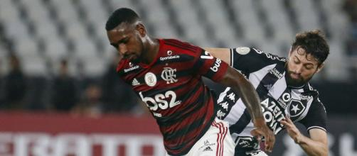 Clássico Flamengo x Botafogo que foi disputado pela Série A em 2019. (Reprodução/Vítor Silva/Botafogo)