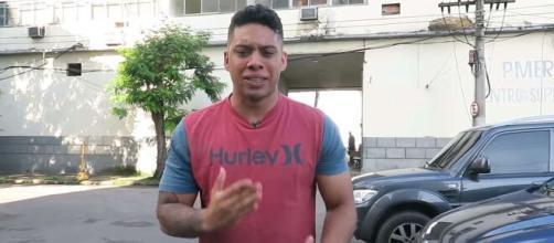 Gabriel Monteiro mostra as ameaças que está recebendo no Twitter. (Arquivo Blasting News)