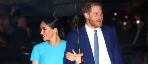 Meghan Markle y Harry regresaron sonrientes a Londres. - airesdelaciudad.com