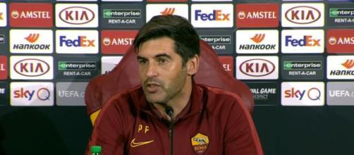 Paulo Fonseca in conferenza pre-match di Europa League.