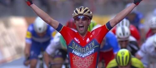 Vincenzo Nibali, vincitore della Milano Sanremo due anni fa