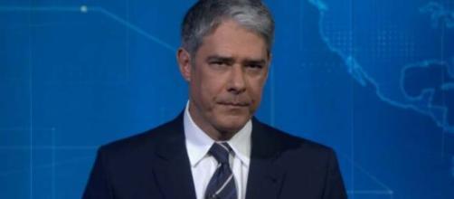 William Bonner viraliza com reação após entrevista de Túlio Gadêlha. (Reprodução/ TV Globo)