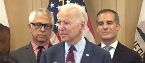 Joe Biden relishes stunning comeback on Super Tuesday. [Image source/ABC News YouTube video]