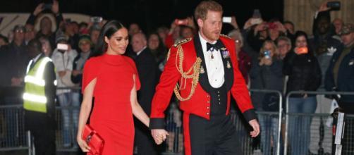 Meghan y Harry lucieron espectaculares en el Festival de Música Mountbatten. - telegraph.co.uk