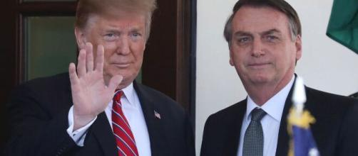 Donald Trump e Bolsonaro - Foto