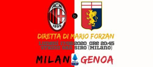 Serie A: Giornata 26 - Da San siro live di Milan - Genoa
