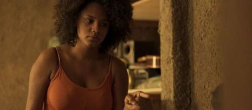 'Amor de Mãe': Jane descobre a verdade sobre a morte da progenitora biológica de Camila. (Reprodução/TV Globo)
