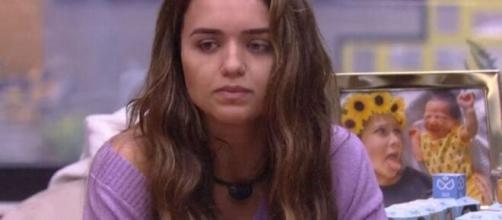 'BBB20': Rafa fala de Flay e Mari. (Reprodução/TV Globo)