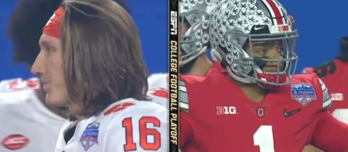 Clemson Tigers going neck-to-neck with Ohio State Buckeyes for Jordan Hancock. [Image Source/ ESPN/YouTube]