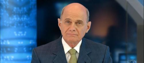Jornalista Ricardo Boechat é um dos famosos que morreram em 2019. (Reprodução/TV Band)