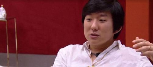 Pyong sobre comportamento de Flay no 'BBB20'. (Reprodução/TV Globo)