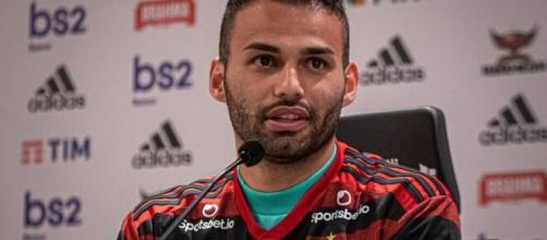 Thiago Maia chegou ao Flamengo no início do ano e tem contrato até o final de 2021. (Paula Reis/CR Flamengo)