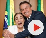 Regina Duarte postou uma reportagem falando que medicamento para coronavírus estava liberado. (Arquivo Blasting News)