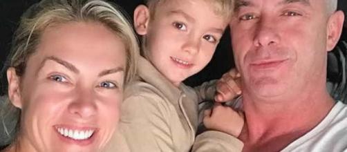 """Ana Hickmann faz declaração para filho e marido: """"meus amores"""". (Arquivo Blasting News)"""