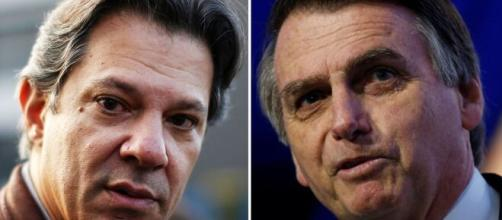 """""""Bolsonaro, você não é presidente' mais', diz Haddad. (Arquivo Blasting News)"""