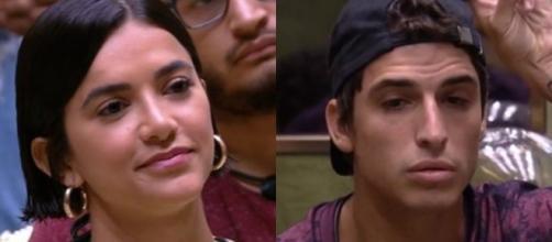 """Famosos agitaram a web durante o paredão entre Manu, Gabi e Prior no """"BBB20"""". (Reprodução/TV Globo)"""
