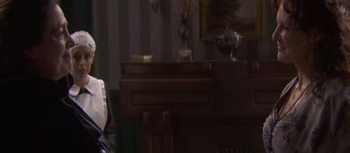Il Segreto: Francisca ritorna in paese e si nasconde a casa di Isabel.
