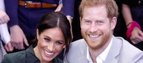 Le couple princier, Harry et Meghan, vient tout juste de s'installer aux Etats Unis. Credit : Instagram/sussexroyal
