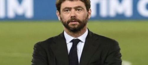 Nella foto il presidente della Juventus Andrea Agnelli.