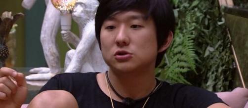 Pyong vibrou com eliminação de Prior. (Reprodução/TV Globo)