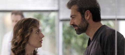 Andrea Fanti cerca di riconquistare l'ex moglie Agnese Tiberi