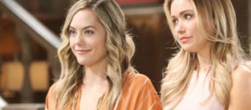 Beautiful, trame al 18 aprile: Flo apprende di essere la cugina di Hope, Wyatt sollevato.