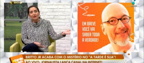 Britto Júnior falou ao vivo na RedeTV! (Foto/Reprodução)
