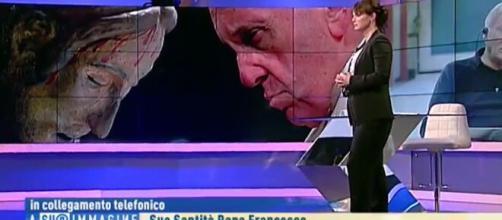 Coronavirus, la telefonata del Papa a sorpresa su Rai 1
