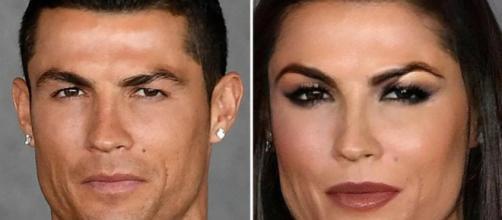 Cristiano Ronaldo transformé en femme