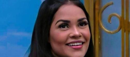 Flayslane é defendida por internautas, que acham que sua eliminação não foi justa. (Reprodução/ TV Globo).