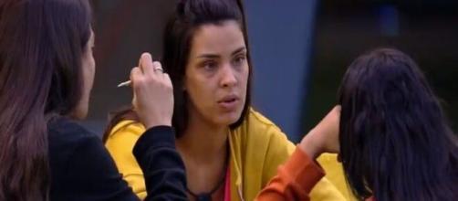 """No """"BBB20"""", Ivy fala sobre Babu para Flay e Mari. (Reprodução/TV Globo)"""