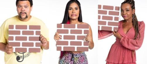 'BBB20': Babu, Flay e Thelma se enfrentam no paredão. (Reprodução/TV Globo)