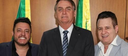 Bruno e Marrone foram eleitores de Bolsonaro. (Arquivo Blasting News)