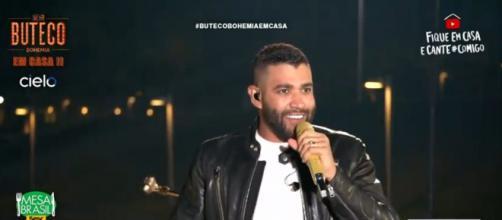Cantor sertanejo Gusttavo Lima faz nova live. (Reprodução/Youtube/gusttavolimaoficial)