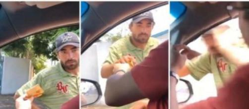 Empresário, suspeito de agredir morador de rua é expulso do partido PSL. (Reprodução/Redes Sociais)