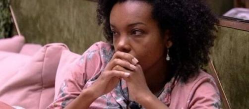 Thelma pode ser a eliminada da vez, segundo enquete do UOL. (Reprodução/ TV Globo).