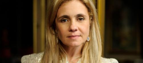 Adriana Esteves fazia a Carminha. (Reprodução/TV Globo)