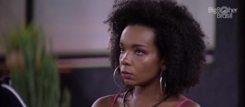 'BBB20': Enquete realizada pela UOL aponta Thelma como eliminada no próximo Paredão. (Reprodução/TV Globo)