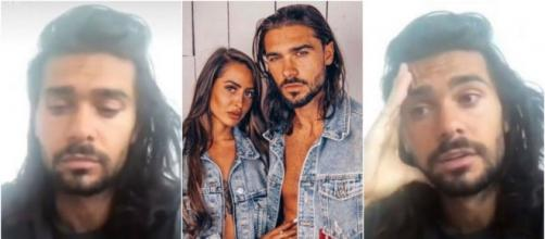 Dépité, Julien Guirado explique les raisons de sa rupture avec Marine El Himer. ®Snapchat : Julienguiradodi