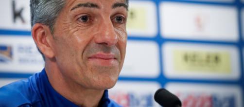 Imanol Alguacil, director técnico de la Real Sociedad C.F, casi consigue la reanudación de los entrenamientos.